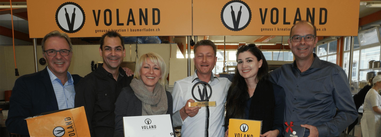 Als Agentur für Design und Markenstrategie haben unter anderem Bäckerei Voland erfolgreich unterstützt.